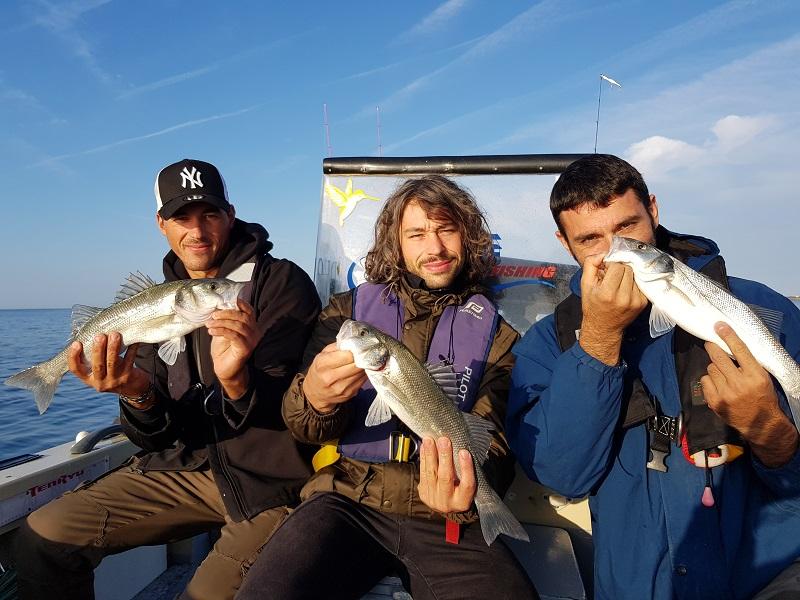 Guide de pêche au bar Le Loup Bar Daniel Nicolet